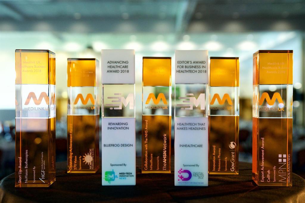 A night of celebration at the Medilink UK Healthcare Business Awards