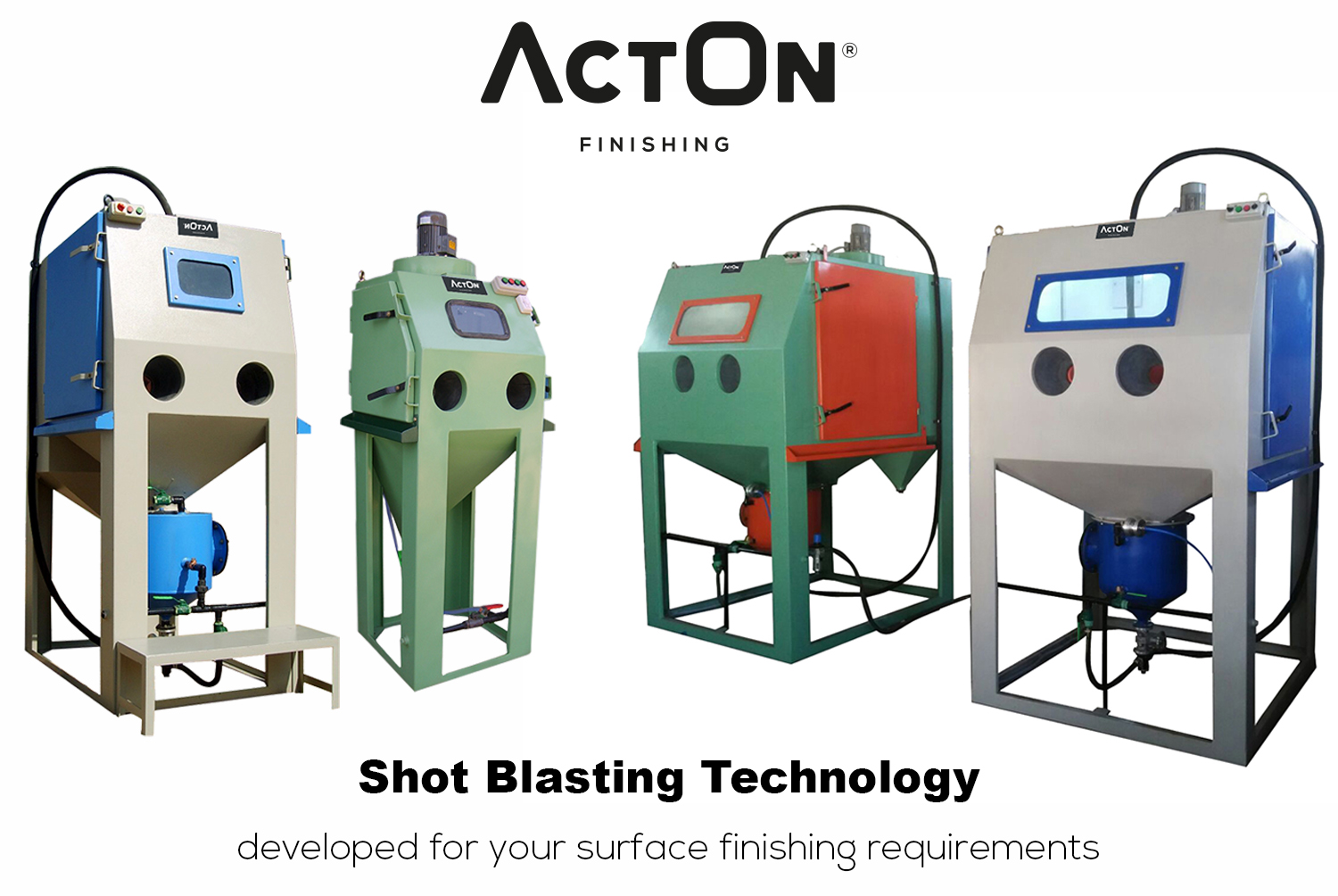 Introducing the New Range of Shot Blasting Machines from ActOn Finishing