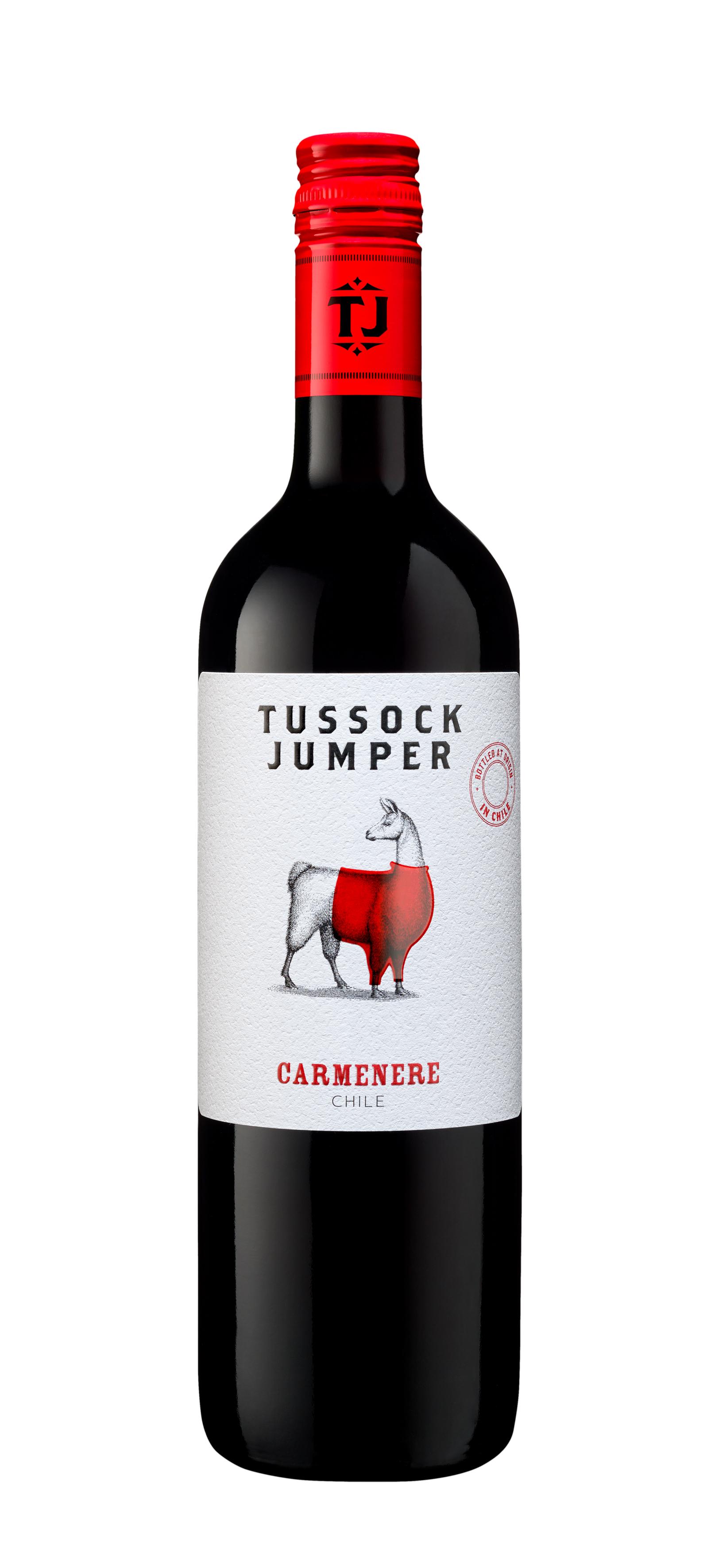Tussock Jumper Carmenere