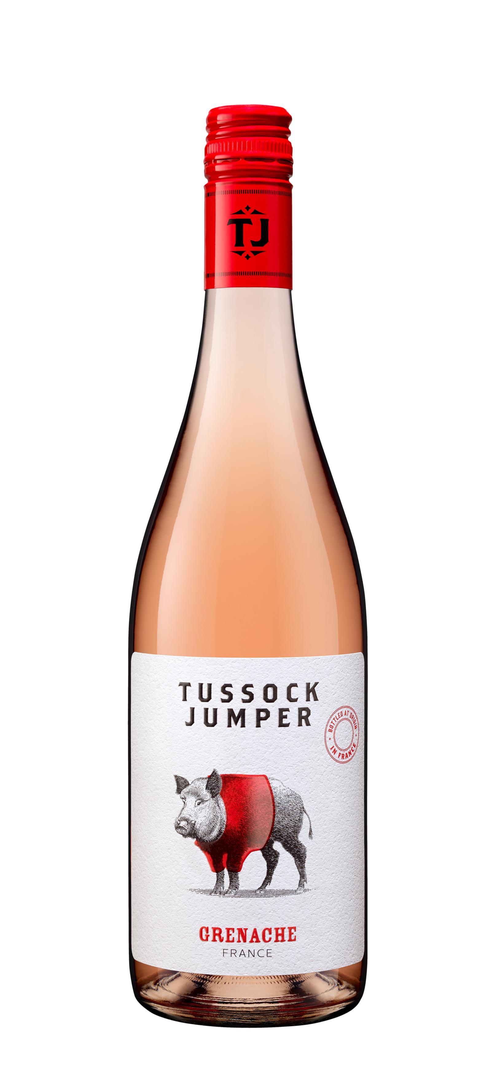 Tussock Jumper Grenache Rose