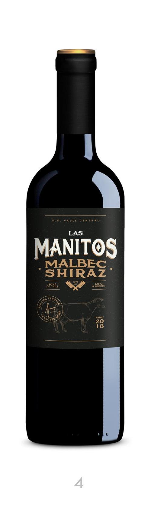 Las Manitos Malbec Shiraz