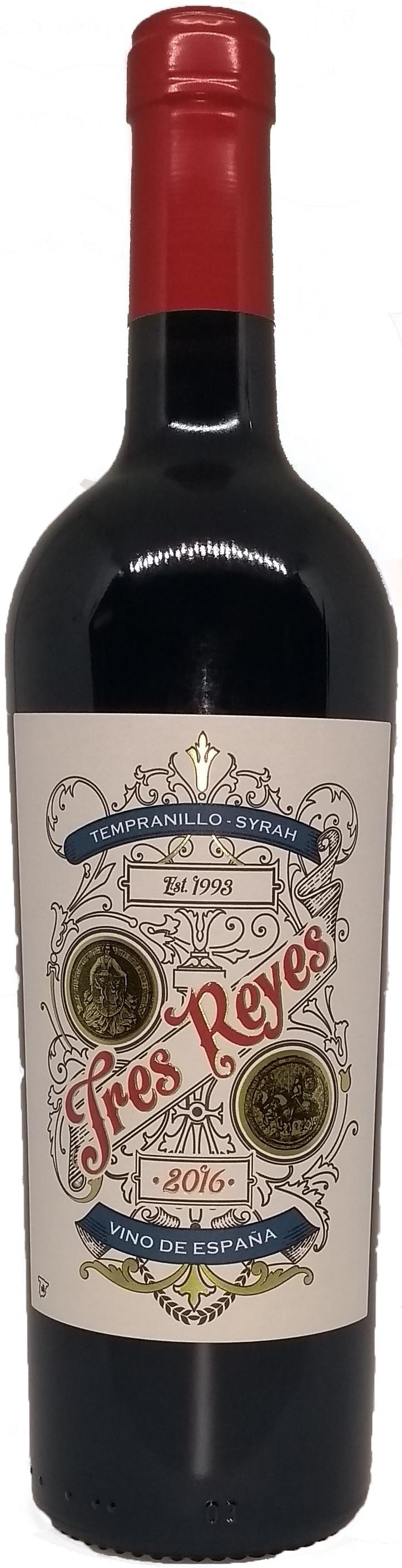 Tres Reyes Tempranillo Syrah VdT Toledo