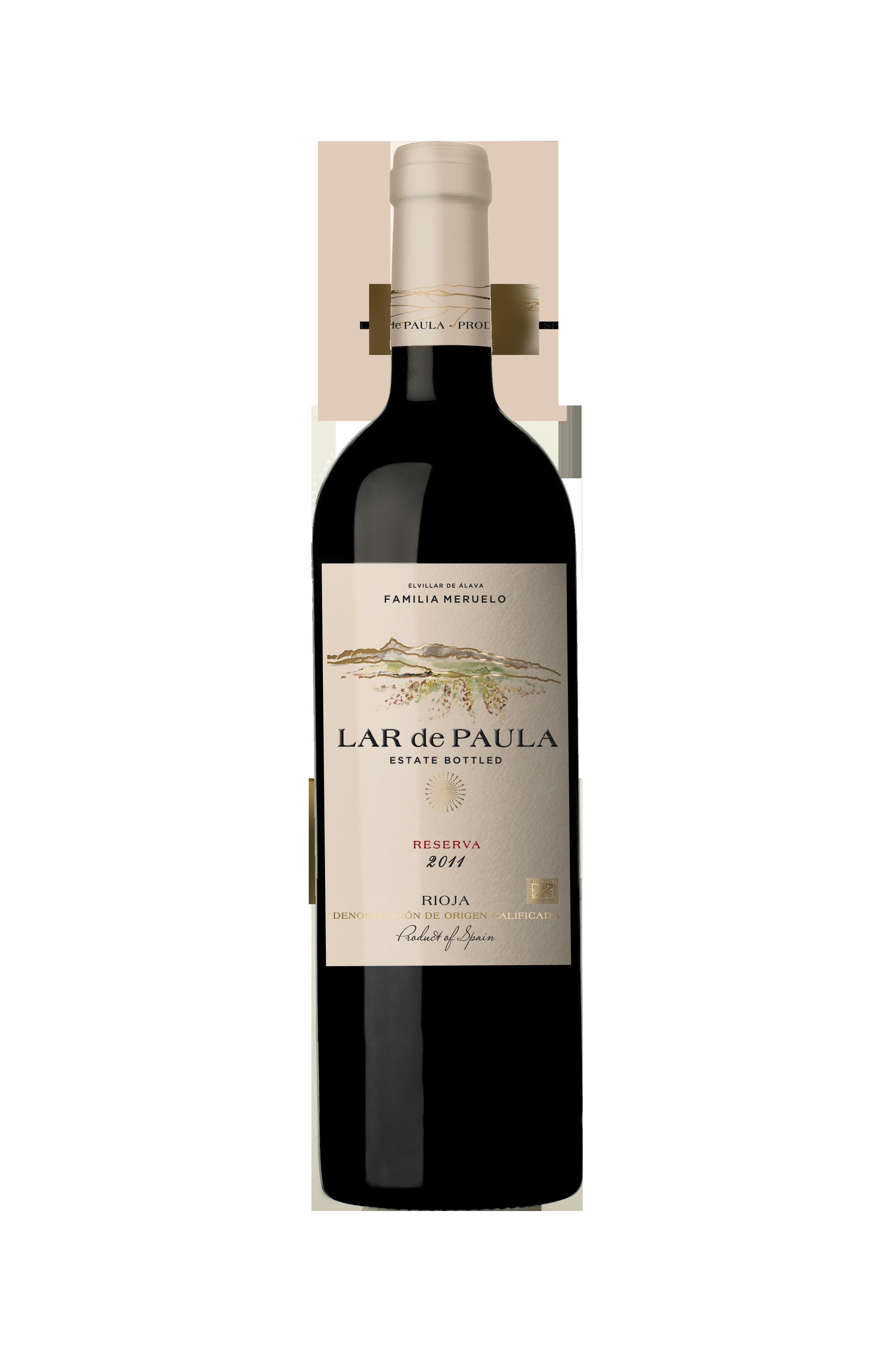 Lar de Paula Reserva DOCa Rioja (Alavesa)