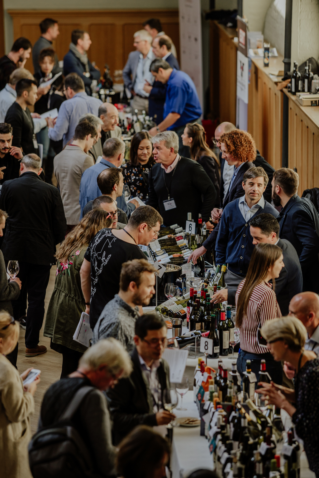 Harpers Wine Stars at trade events