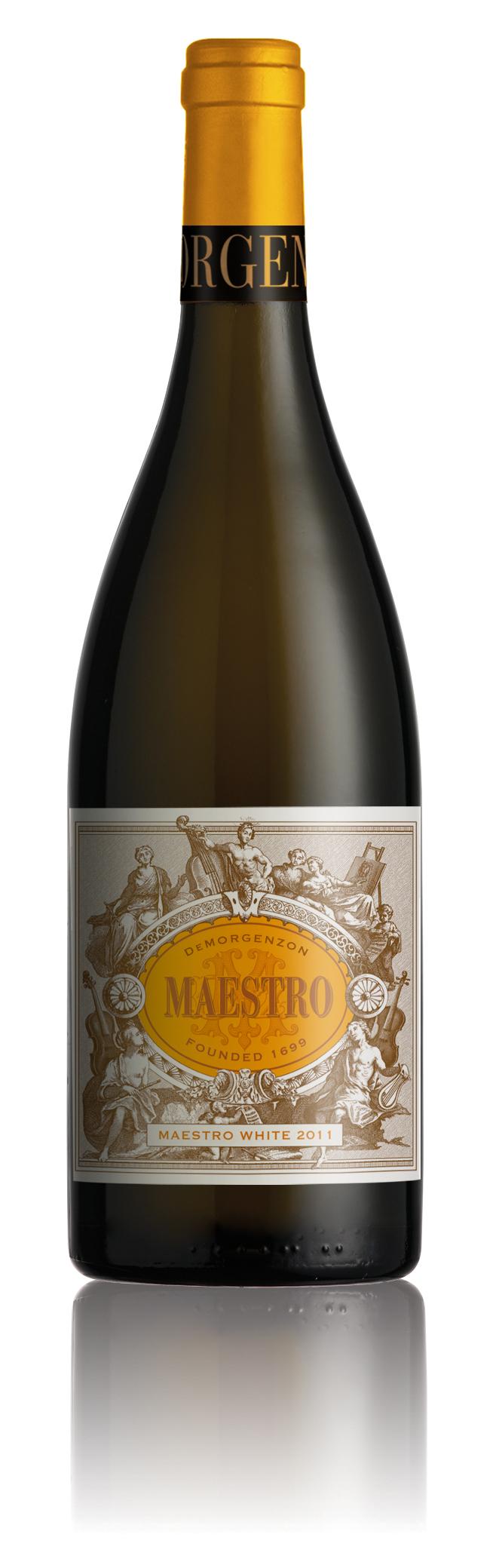 Maestro White (Roussanne, Chardonnay, Chenin, Viognier, Grenache Blanc)
