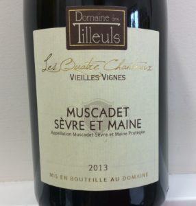 Muscadet Sevre et Maine sur lie 'Les Quatre Chanteaux' Vieilles Vignes
