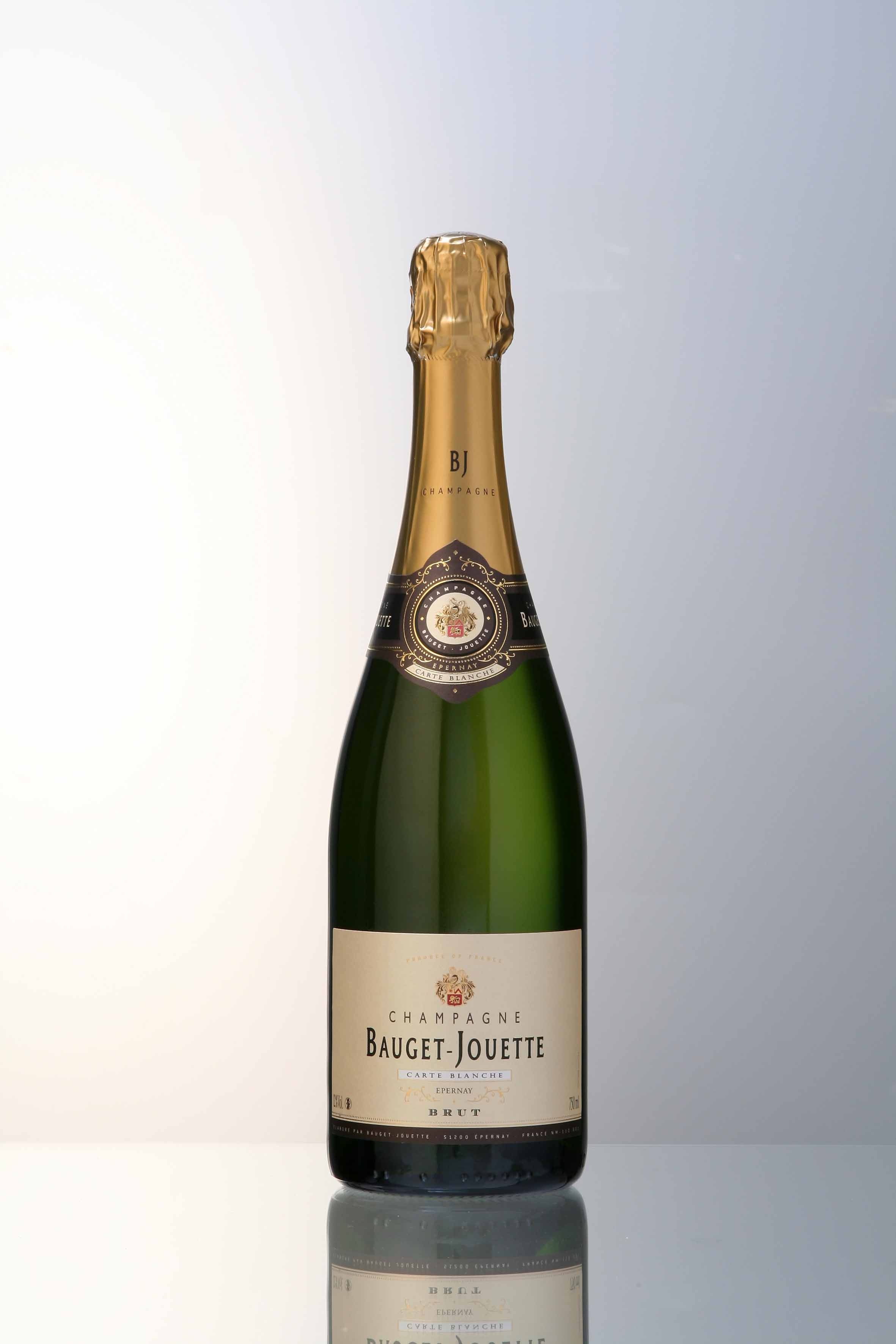 Champagne Bauget-Jouette  'Carte Blanche' Brut NV