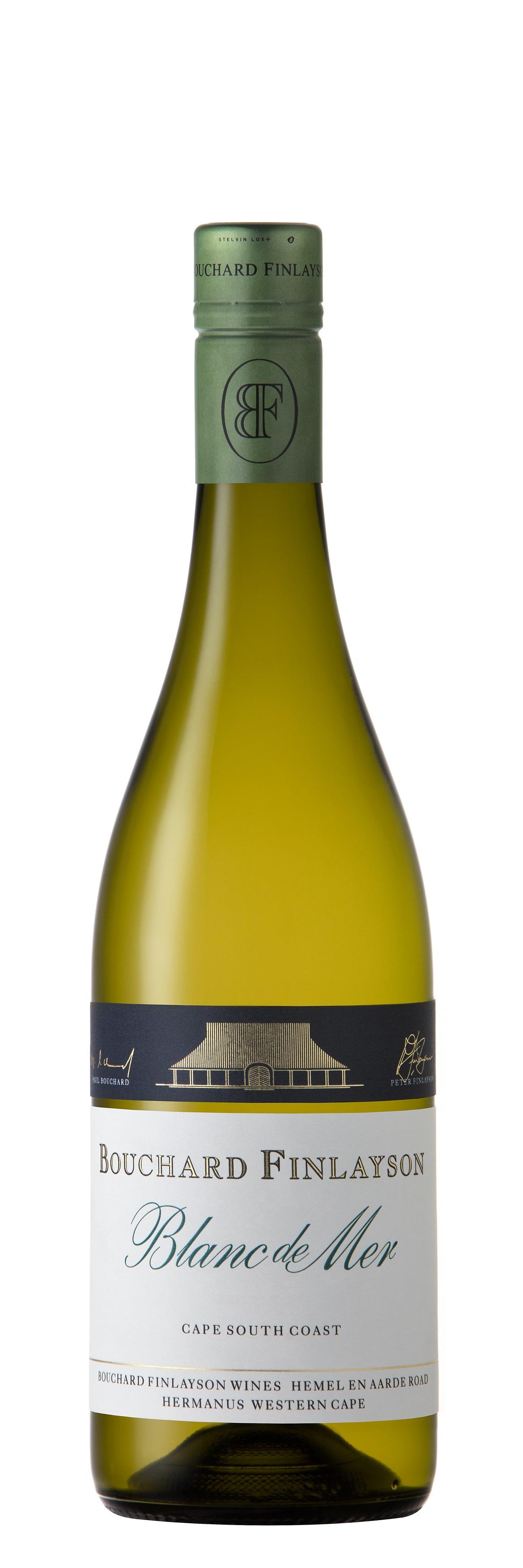 Blanc de Mer (Riesling, Chardonnay,  Viognier,  Sauvignon blanc)