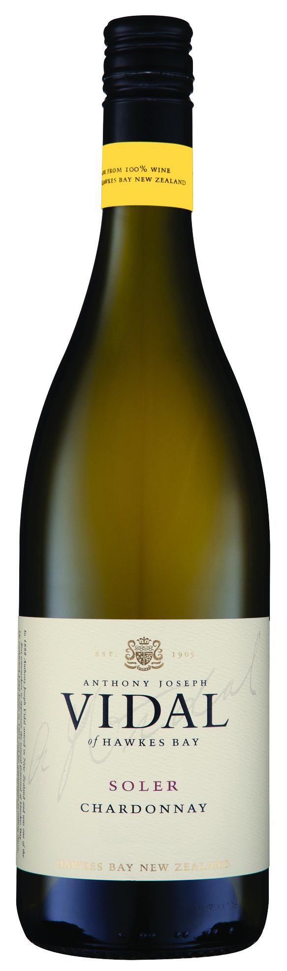 Vidal Solar Chardonnay