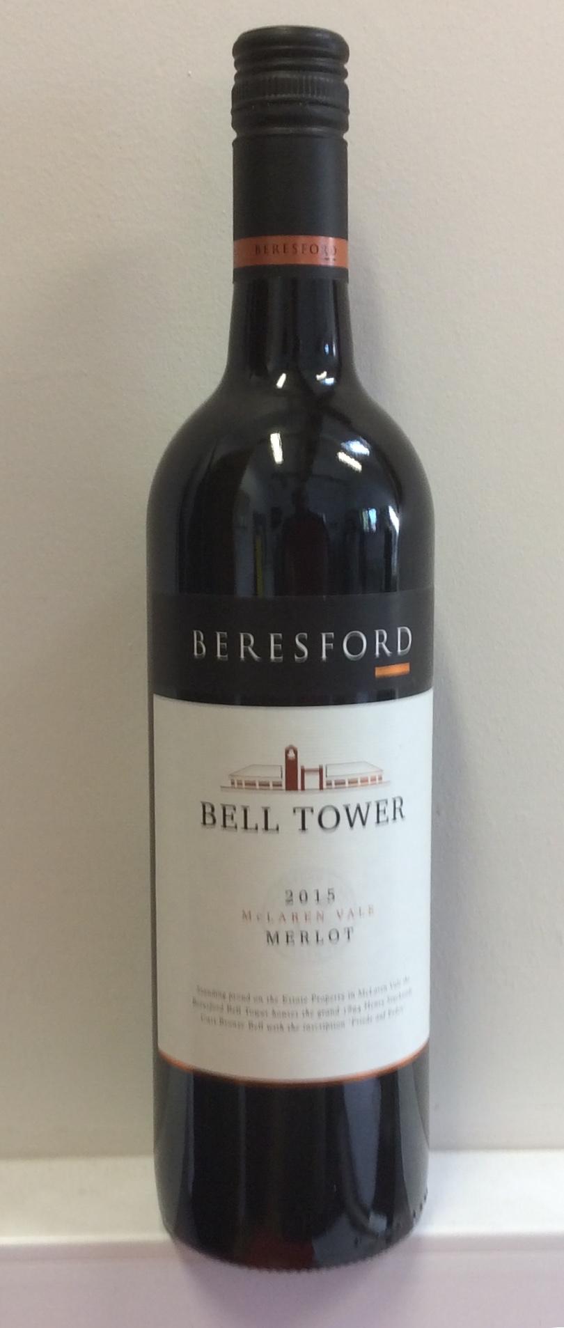 Beresford Bell Tower Merlot