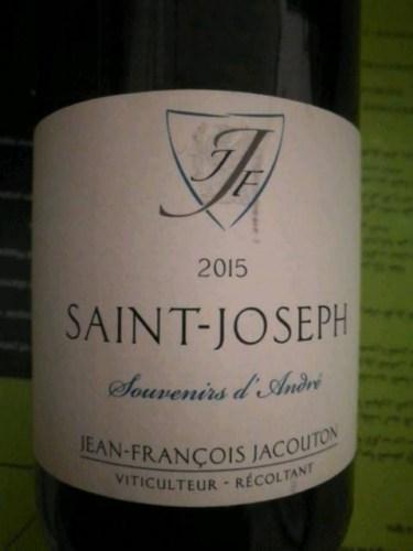 """Saint Joseph Blanc """"Souvenir d'André"""""""