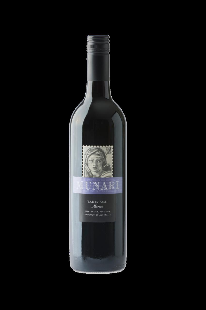 Munari Wines 'Ladys Pass' Shiraz 2015