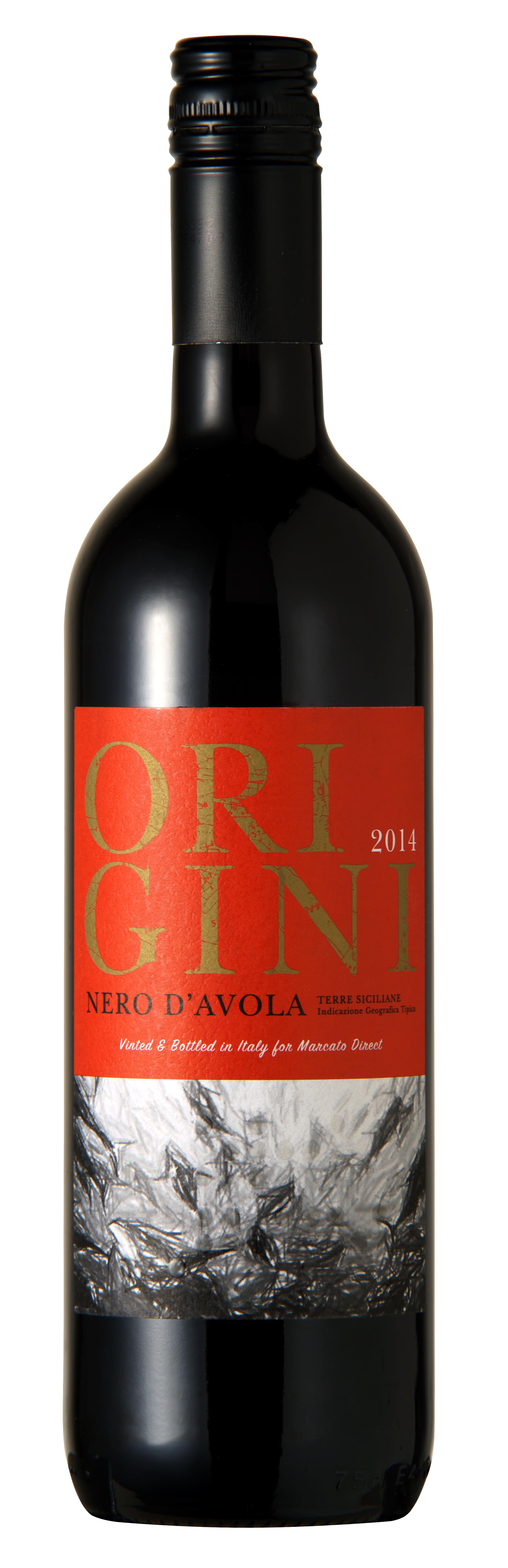 Origini Nero d'Avola Terre Siciliane IGT