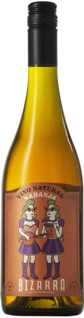 Bizarra Extravaganza Vino Natural Naranja