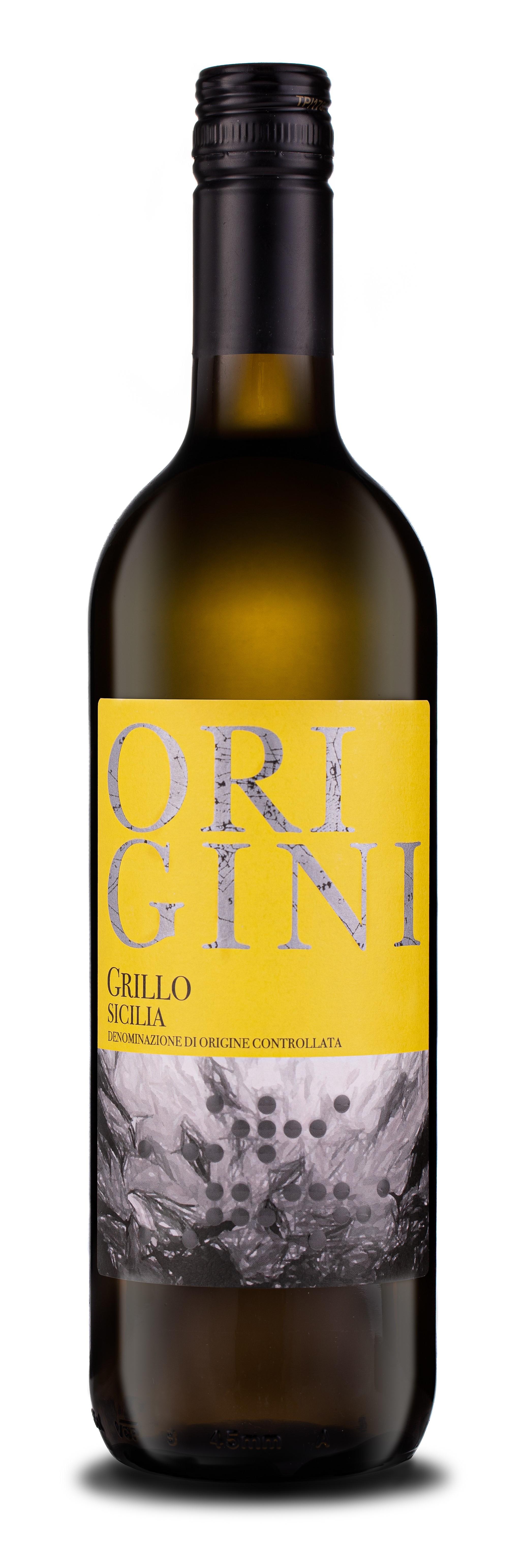 Origini Grillo Sicilia DOC