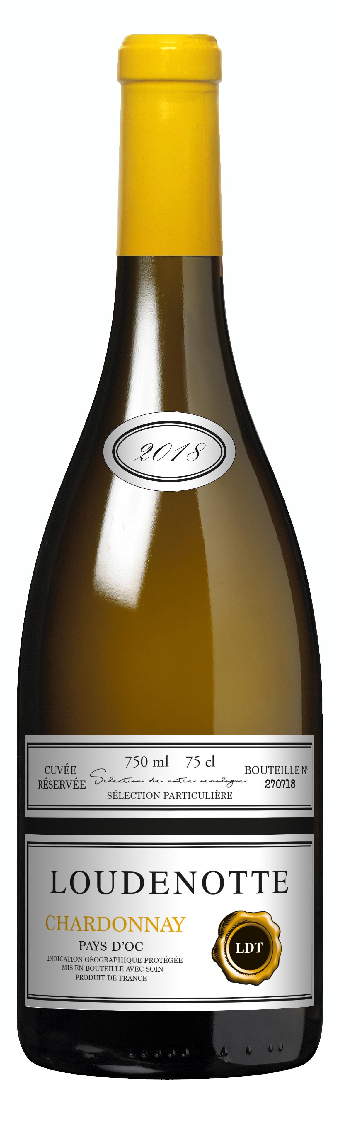 Loudenotte Chardonnay, Cuvee Reservee
