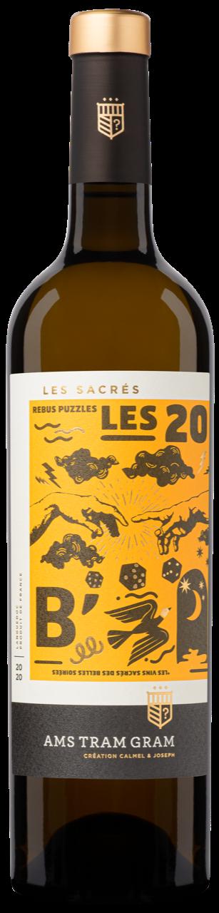 Ams Tram Gram Les Sacrés Rébus Blanc AOP Languedoc 2020