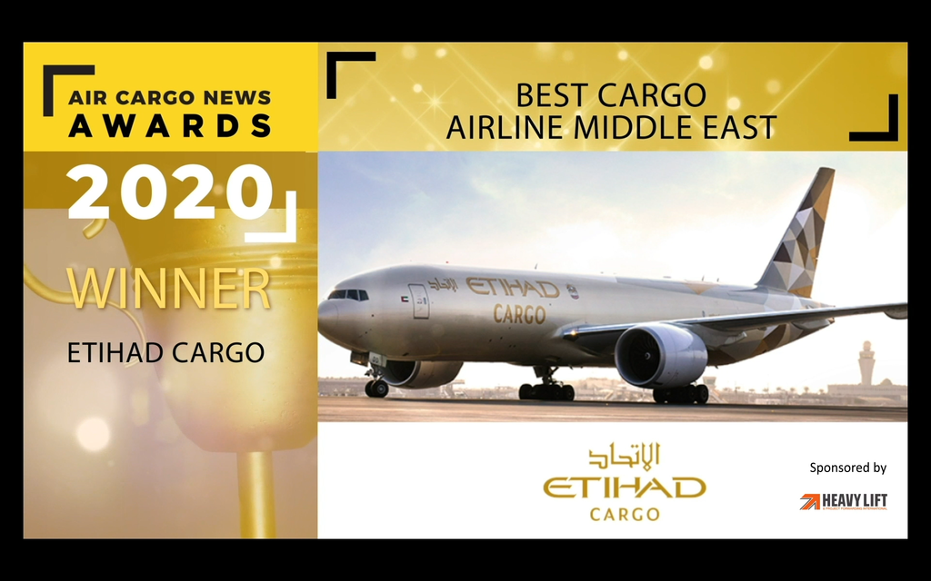 Best Cargo Airline - Middle East