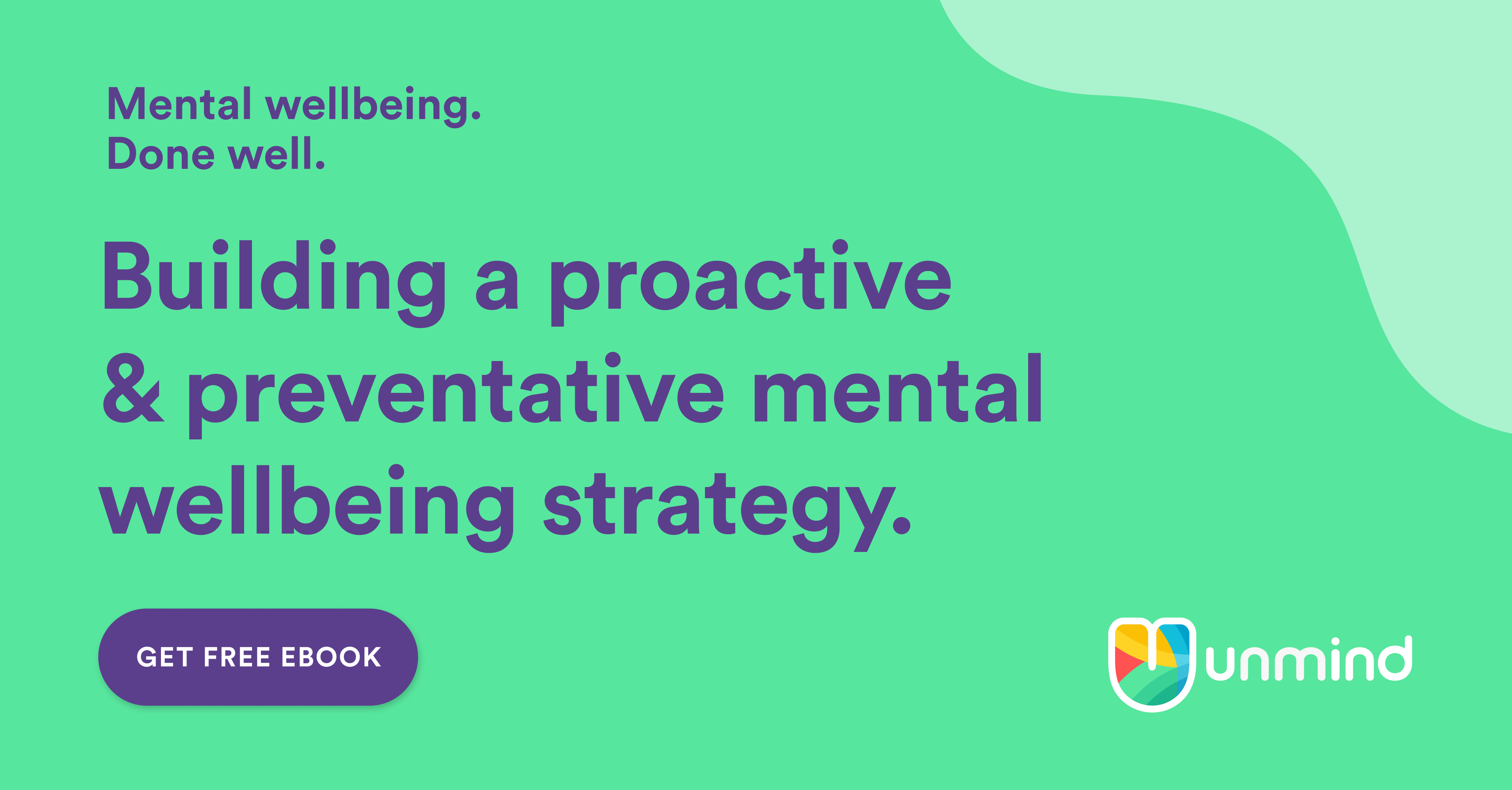 eBook: Building a proactive and preventative mental wellbeing strategy