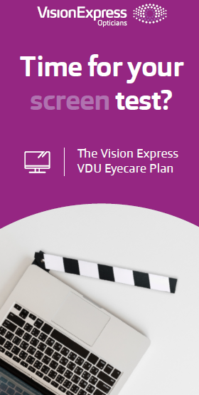 VISION EXPRESS CORPORATE EYE CARE PLAN - VDU/ DSE