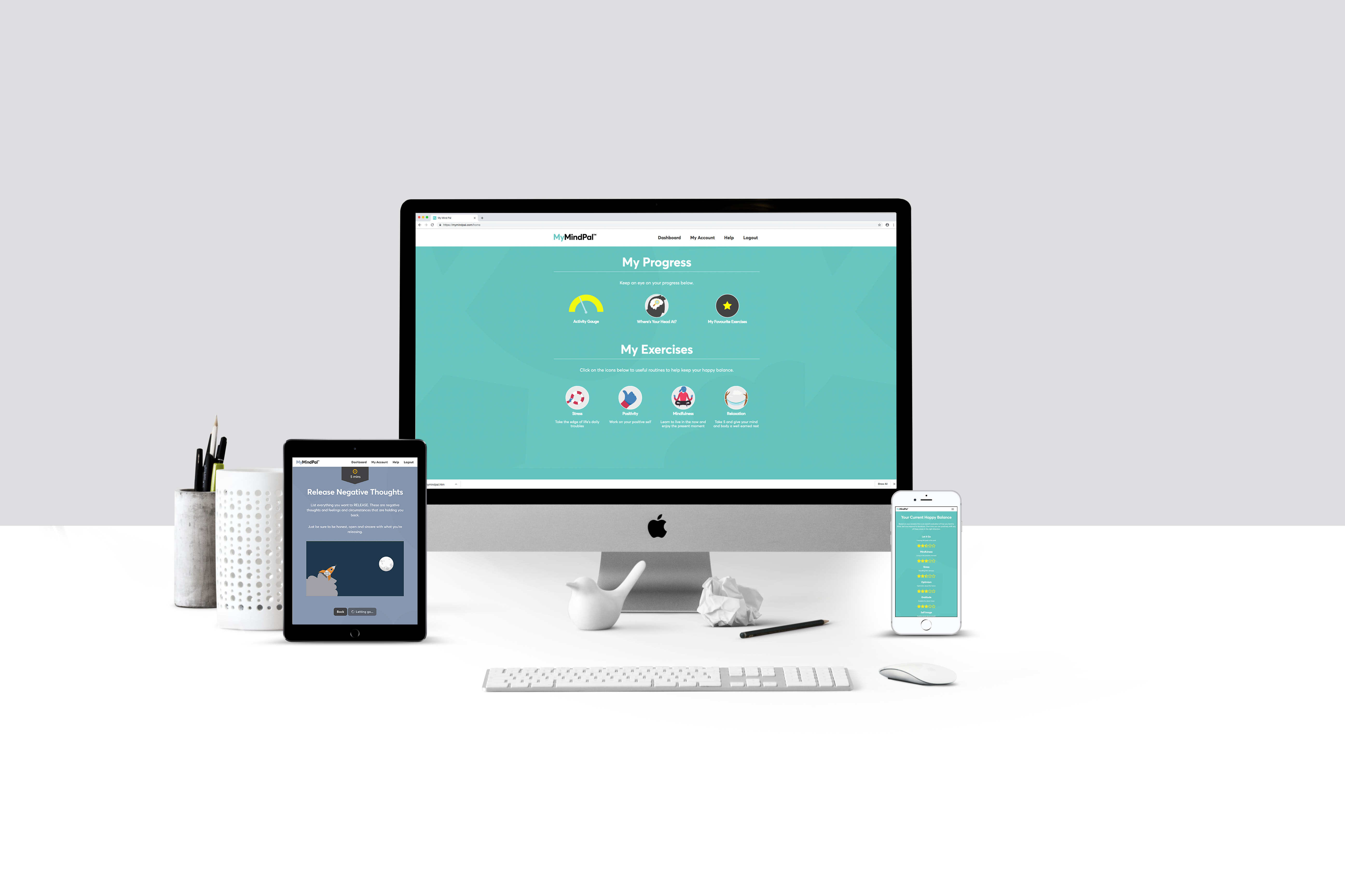MyMindPal - Emotional Wellbeing For Everyone