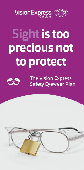 VISION EXPRESS CORPORATE EYE CARE PLAN - SAFETY EYEWEAR