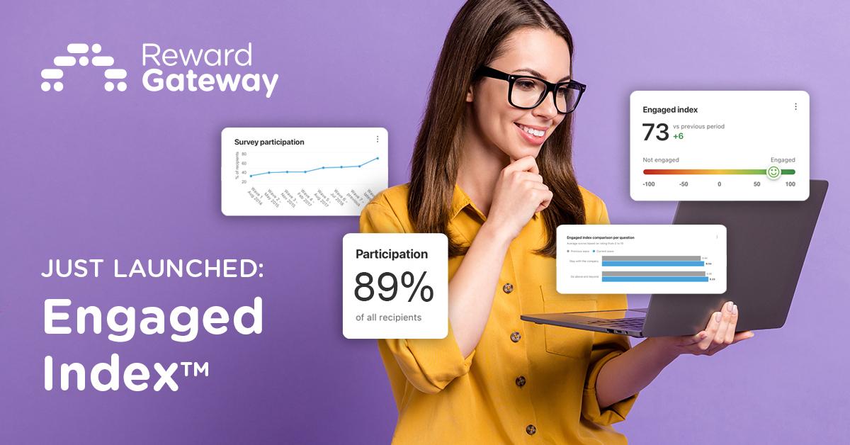 Reward Gateway Launches the Engaged Index™ to Establish Employee Engagement Benchmark