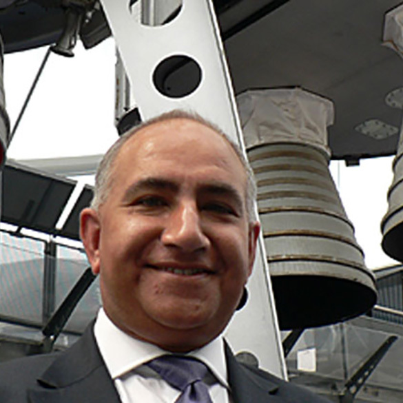 Mike Kapur OBE // National Space Centre