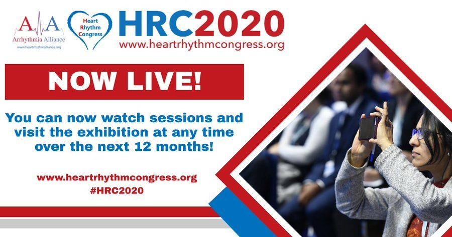 A-A Heart Rhythm Congress - NOW LIVE and available until September 2021