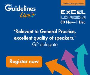 Join us at Guidelines Live on 30 Nov–1 Dec at ExCeL London