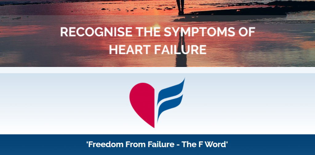 Heart Failure Awareness Week, 10th-16th May 2021 – Freedom from Failure – the F Word