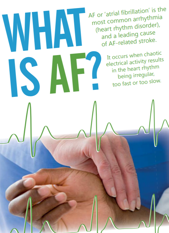 Detecting AF in COVID-19 vaccine centres – helping to reduce the number of AF-related strokes