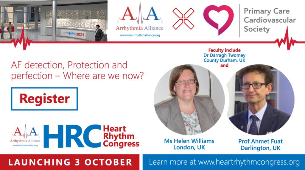 Arrhythmia Alliance Heart Rhythm Congress 2021