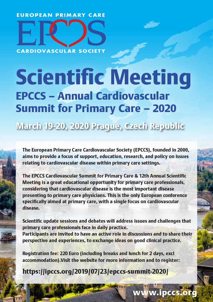 EPCCS - Annual Cardiovascular Summit for Primary Care - 2020