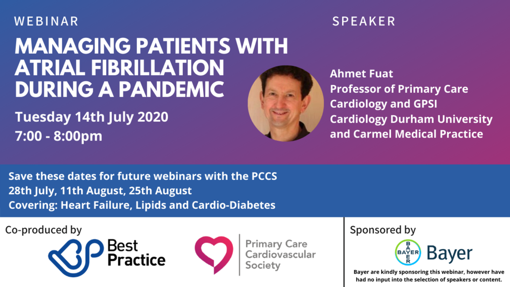 The second webinar in our new Best Practice and PCCS series: Blood Pressure - part of our A-B-Cs