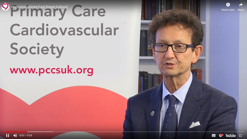 Professor Ahmet Fuat - Primary Care Heart Failure