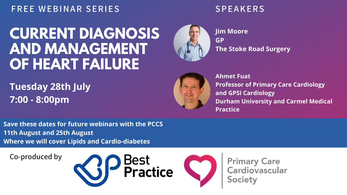 The third webinar in our Best Practice and PCCS series: Blood Pressure - part of our A-B-Cs