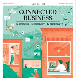 Connected Business supplement in The Times