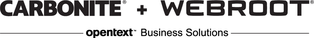 Carbonite + Webroot (OpenText Business Solutions)