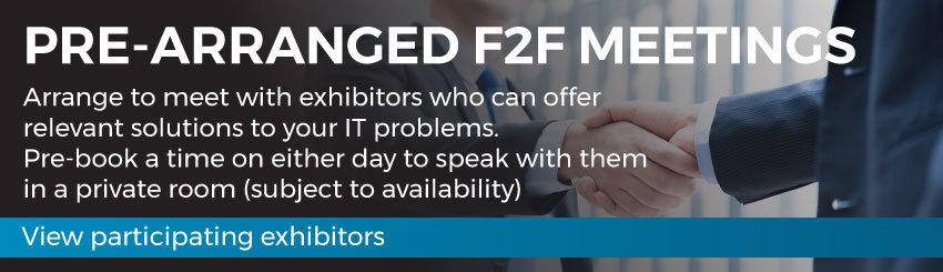 Pre-arranged F2F Meetings