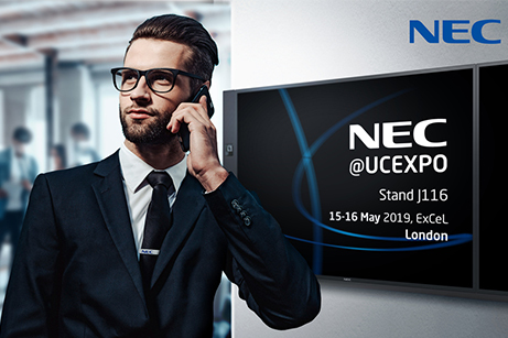 NEC reveals smart workspace solutions at UC EXPO