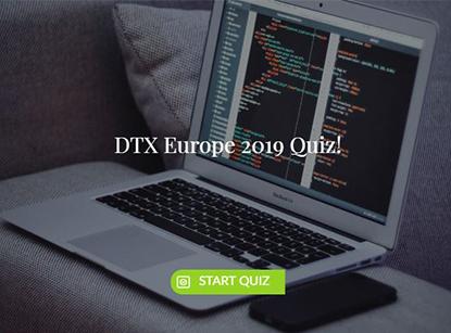 DTX Europe 2019 Quiz
