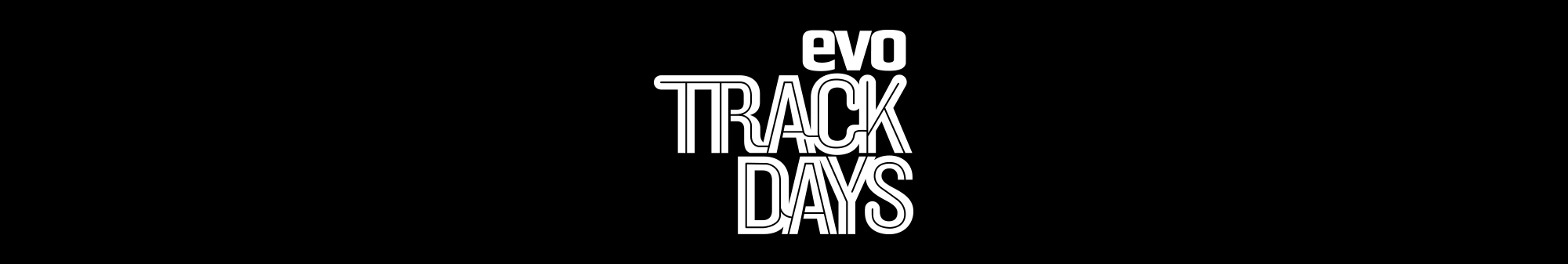 evo track days logo centre