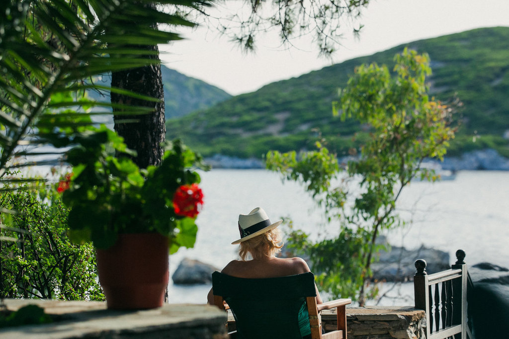 THE PURPOSE OF A RETREAT by Cate Mackenzie, Skyros