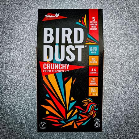 Bird Dust Crunchy Fried Chicken Coating, White's Gourmet Fried Chicken