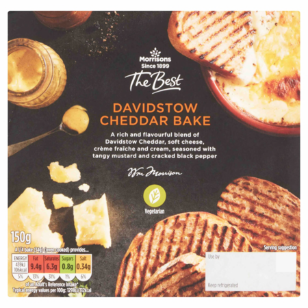 Morrisons The Best Davidstow Cheddar Bake