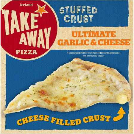Iceland Stuffed Crust Ultimate Garlic and Cheese Pizza Bread