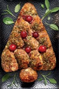 Aldi Specially Selected Pork, Chestnut & Festive Fruit Christmas Tree Stuffing Centrepiece