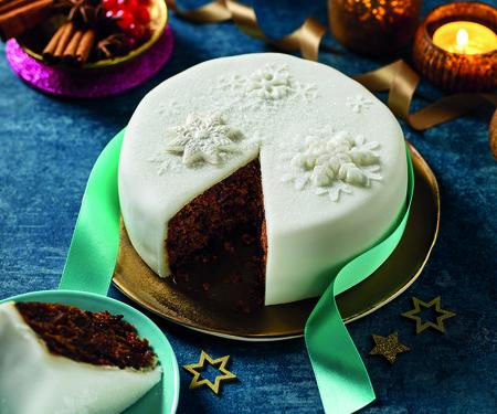 Morrisons The Best Iced Christmas Cake