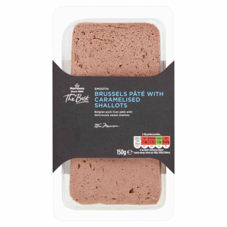 Morrisons The Best Brussels Pâté with Caramelised Shallots